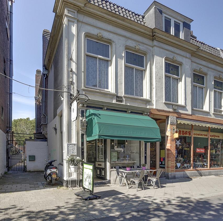 Restaurant winkelstraat centrum Utrecht