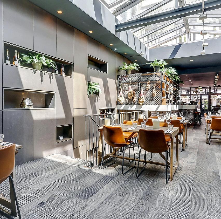 Restaurant in de De Pijp Amsterdam