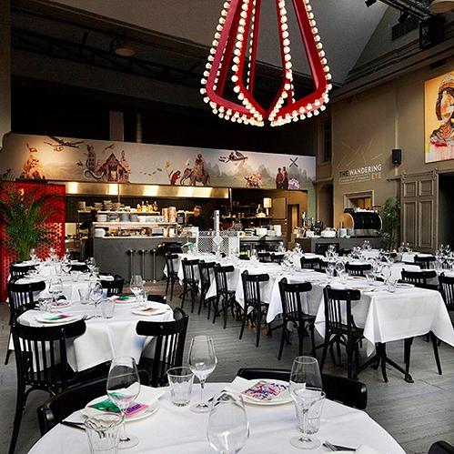 Bar Restaurant met terrassen centrum Amsterdam