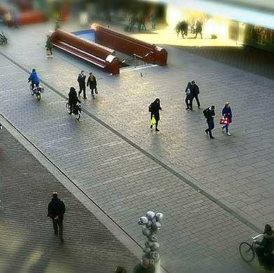 Daghoreca aan drukke straat centrum Amsterdam