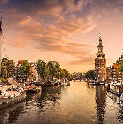 Restaurant hoeklokatie Amsterdam