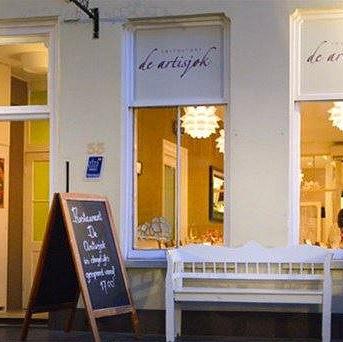 Restaurant aan Nieuwegracht in Utrecht