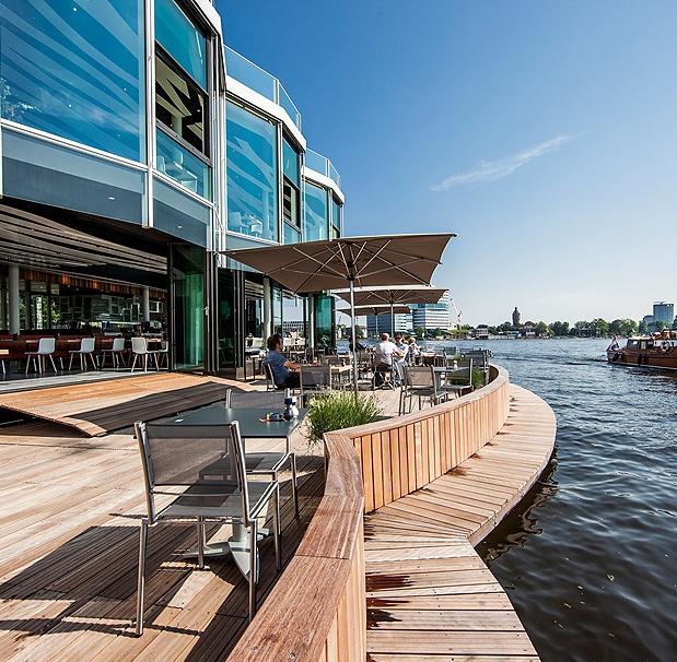 Restaurant te Amsterdam