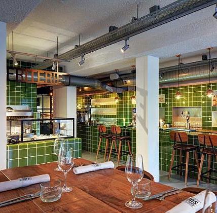 Restaurant aan Oosterkade te Utrecht