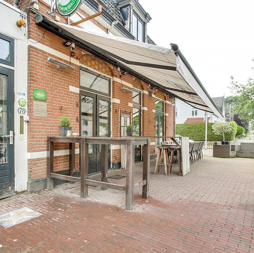 Café-eetcafé op hoeklokatie 't Gooi
