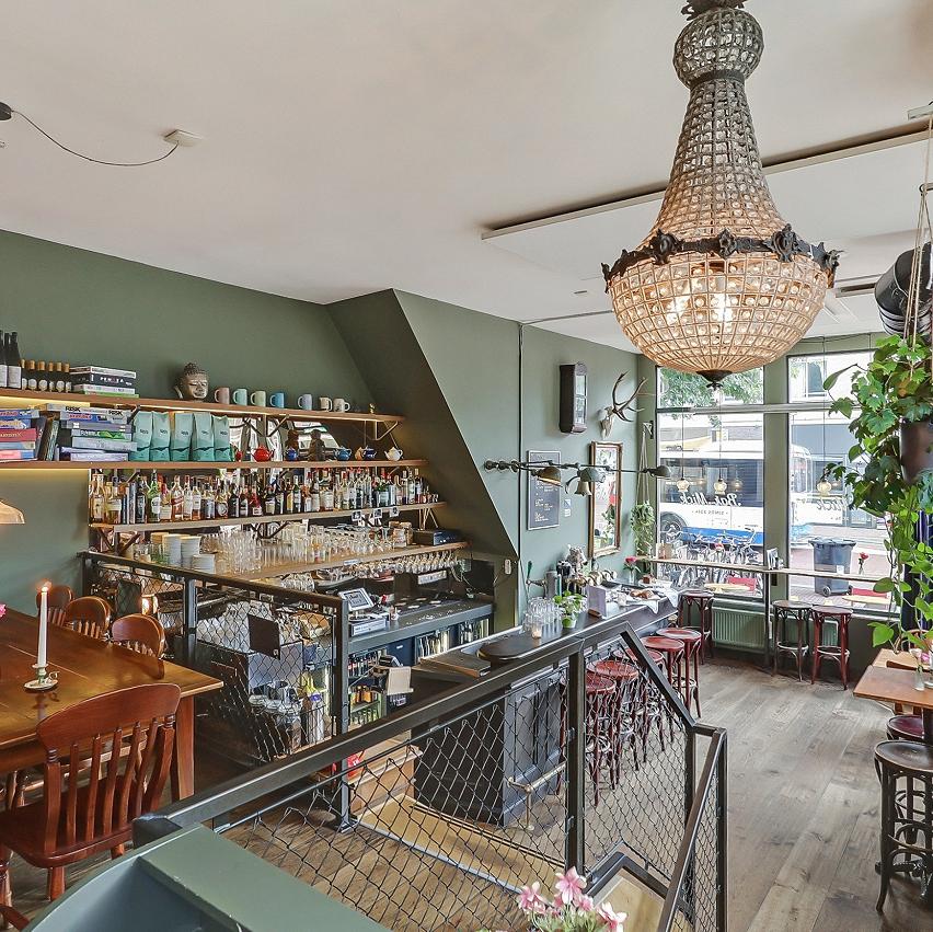 Eetcafé nabij Houthavens Amsterdam
