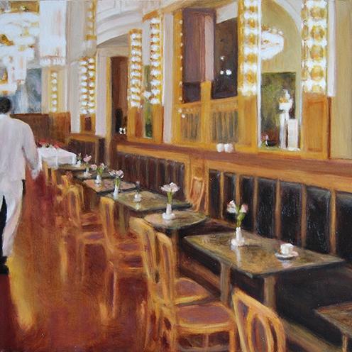 Restaurant aan plein Het Gooi