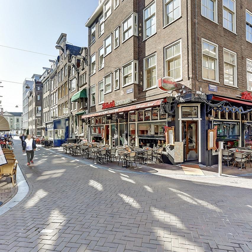 Dagzaak nabij Leidseplein Amsterdam