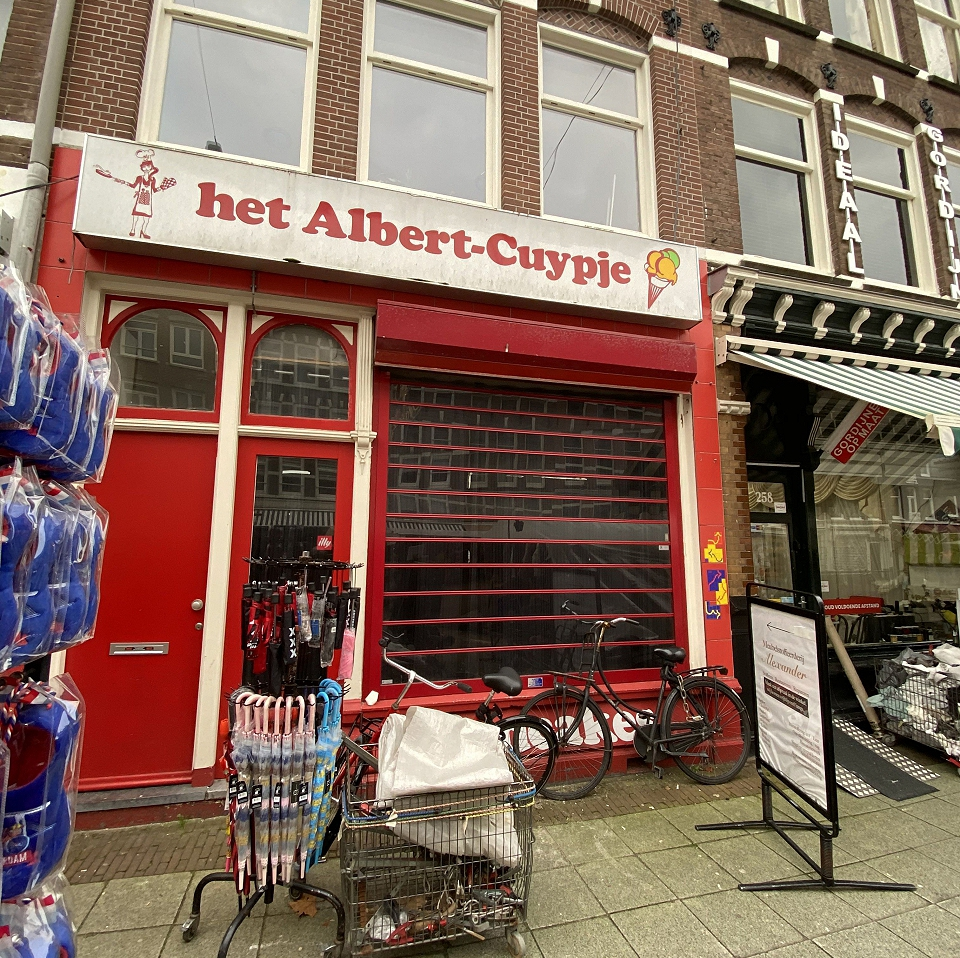 Casco horecaruimte aan Albert Cuypstraat Amsterdam