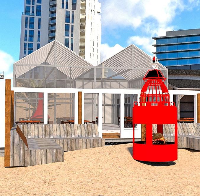 Beachbar Strandpaviljoen Regio Amsterdam