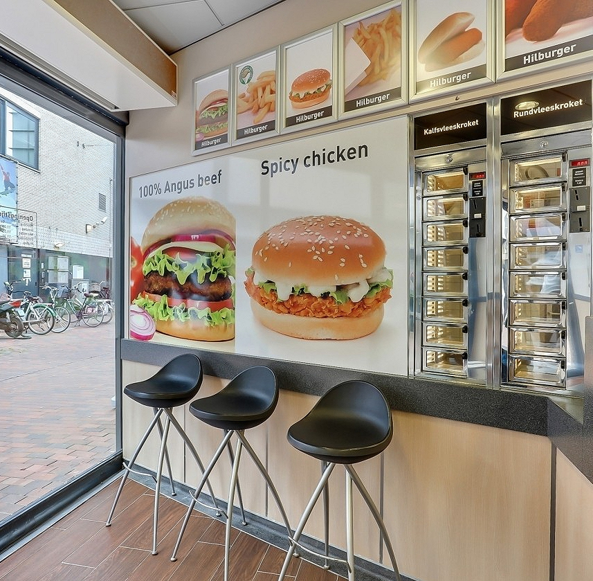 Fastfood lokatie centrum Hilversum